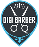 Digi Barber Logo Barber booking app