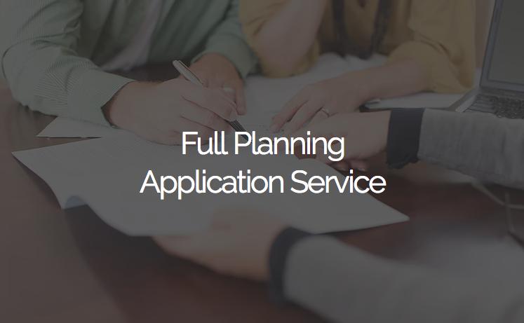 Full Planning Application Service