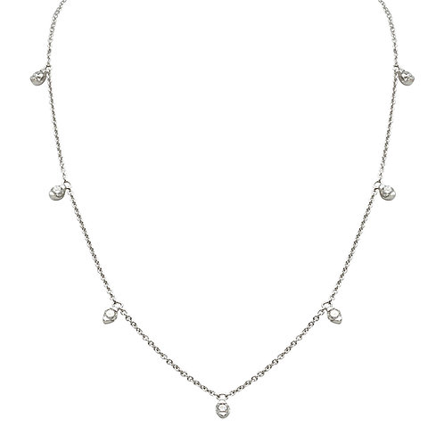 Candor Necklace (18k White Gold)
