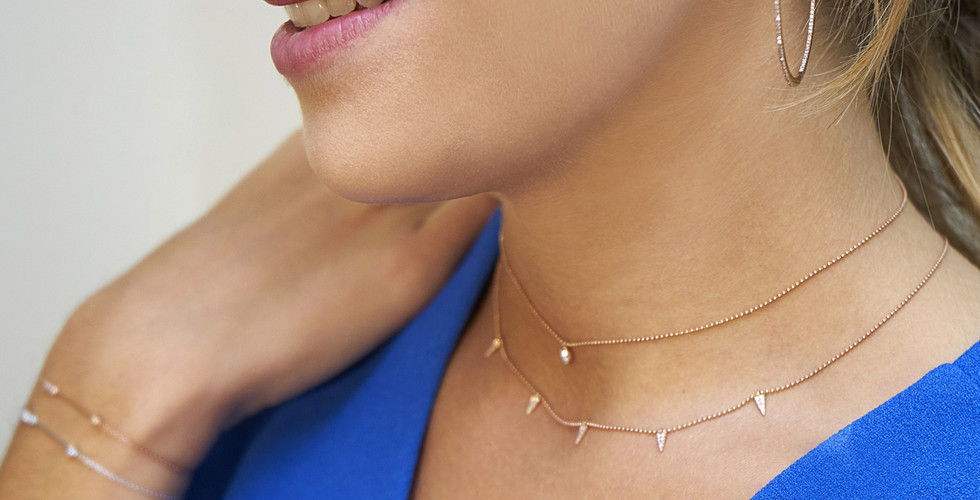 Home, Candor Extra large Hoops (rose gol