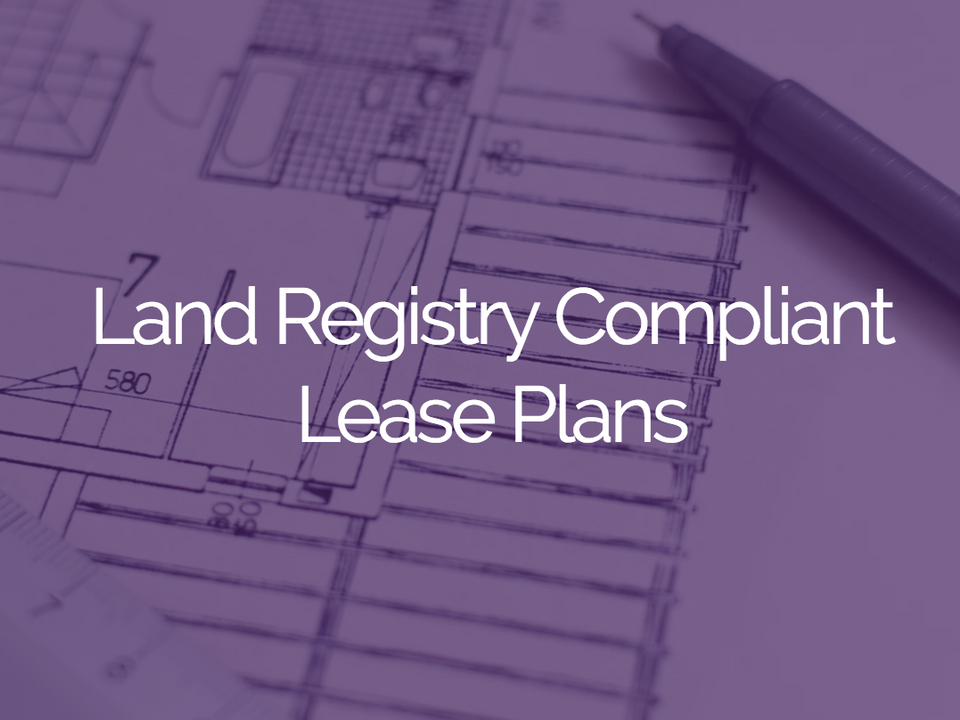 Land Registry Compliant Lease Plans