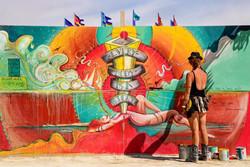 Center Camp Mural