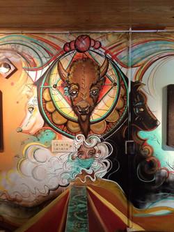 St Coffee Mural