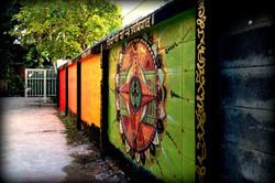 Mural in Chiang Mai