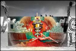 Burning Man Mural 2015