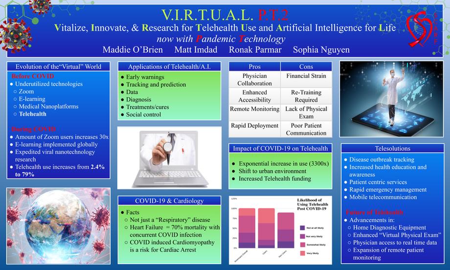 First Place Award: V.I.R.T.U.A.L. PT 2