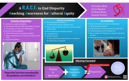 A R.A.C.E. to End Disparity