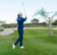 Theodor Matejka Golfschwung. Golf lernen im Diamond Country Club
