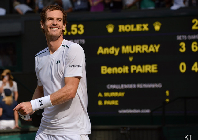 Andy Murray Centre Court 2017