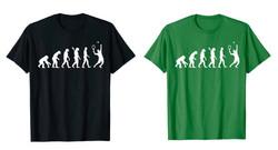 Evolution Tennis player T-Shirt