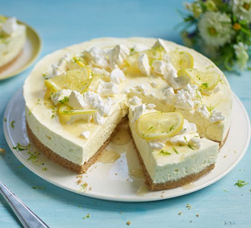 Gin & Tonic Cheesecake