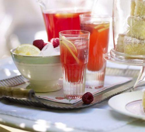 Homemade Pink Lemonade