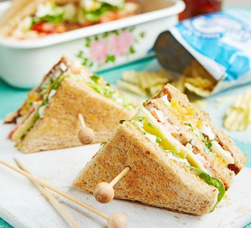 Egg & Cress Club Sandwich
