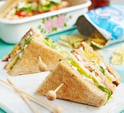 Egg & Cress Club Sandwich