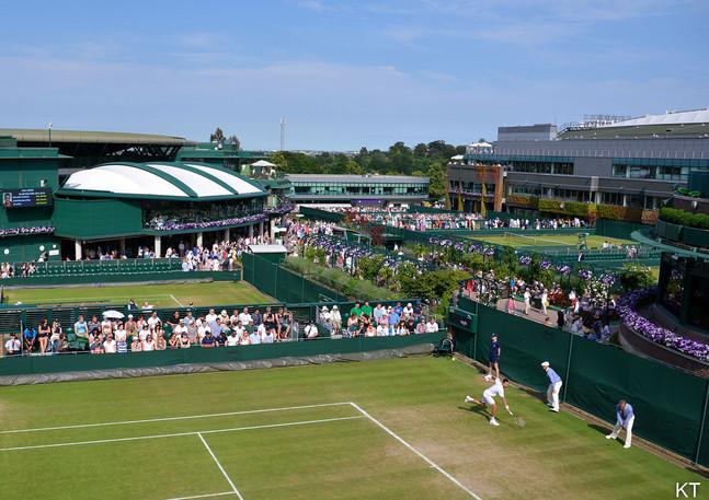 Day 5 of Wimbledon 2015