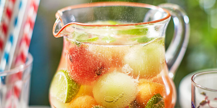 Cucumber Mint Melon Punch