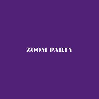 Zoom Party Menu