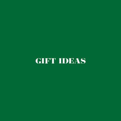 Gift Ideas Menu