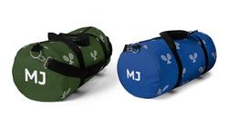 Personalised Tennis Duffel Bag