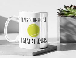 Tears Fun Tennis Mug