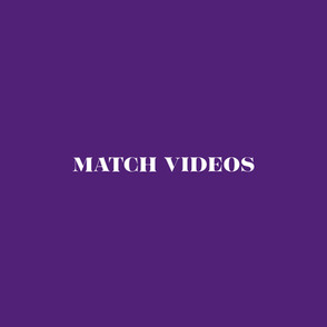 Match Videos Menu