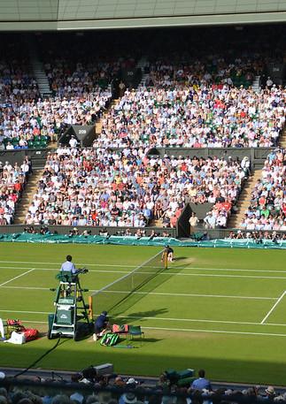Serena Williams v Heather Watson 2015