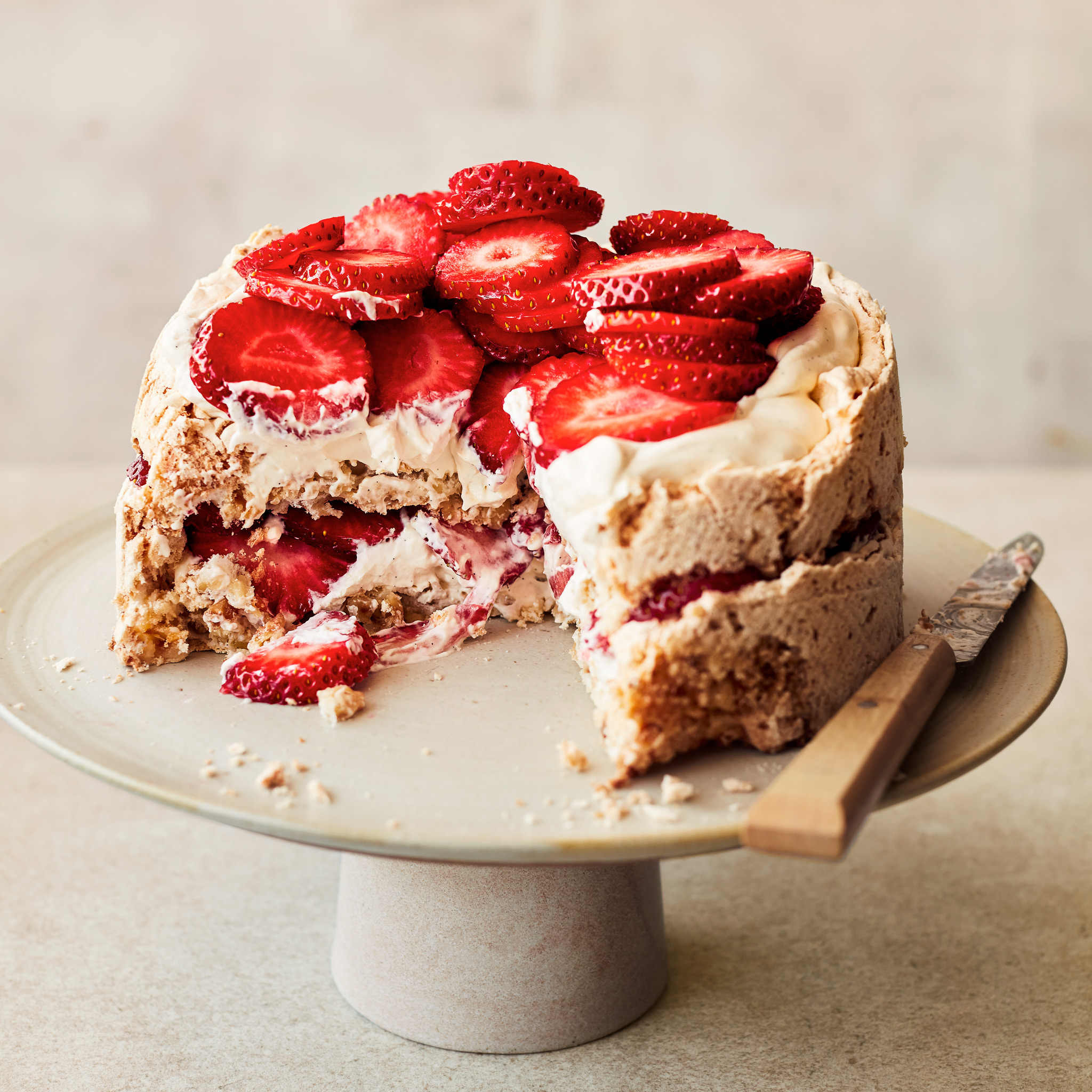 Waitrose Strawberry Meringue
