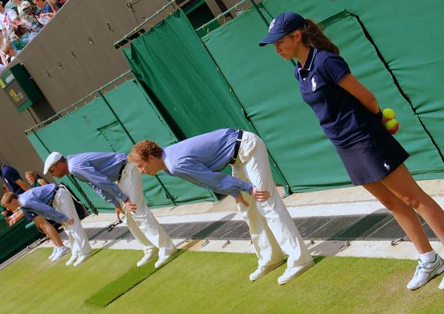 Wimbledon Line Judges 2013