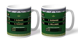 Personalised Tennis Mugs