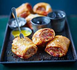 Cheese & Marmite Sausage Rolls