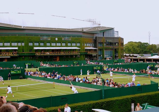 Wimbledon Outside Courts 2013