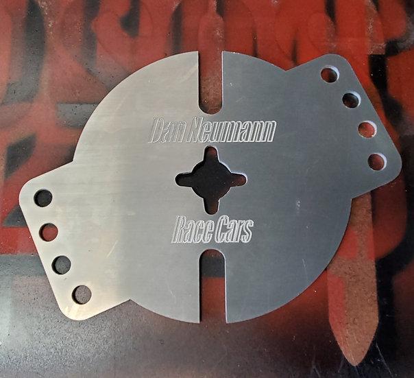 Blem Holley 4500 Carb Cover w/Spark Plug holes