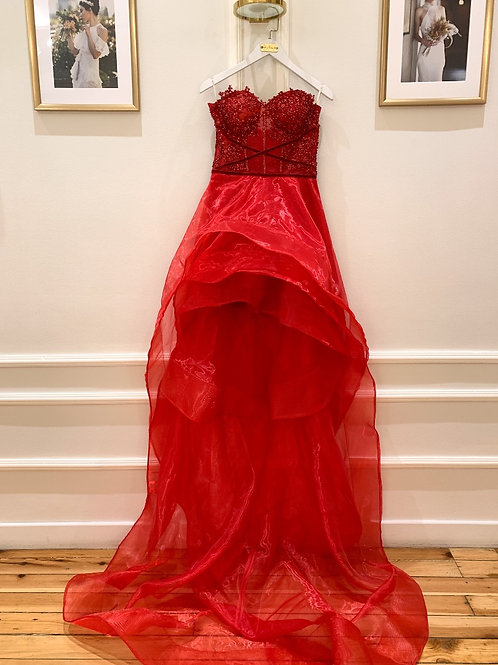 sagaza kina elbisesi