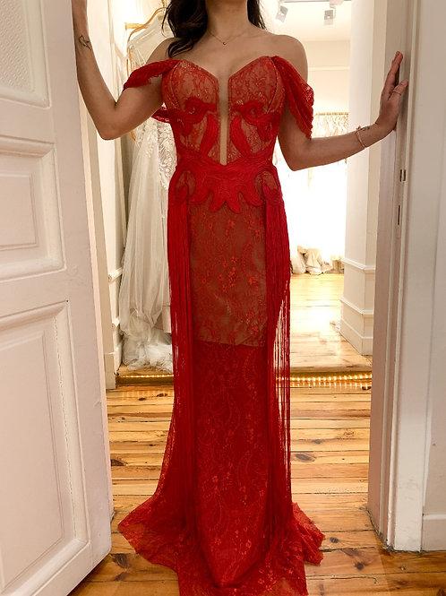 zeynep erdoğan kina elbisesi