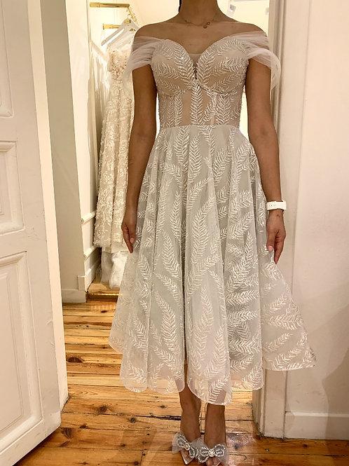 kiralik midi elbise