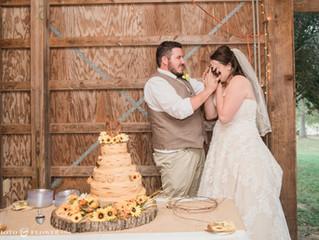 Kacie & John's Wedding (Epic cake smash!)
