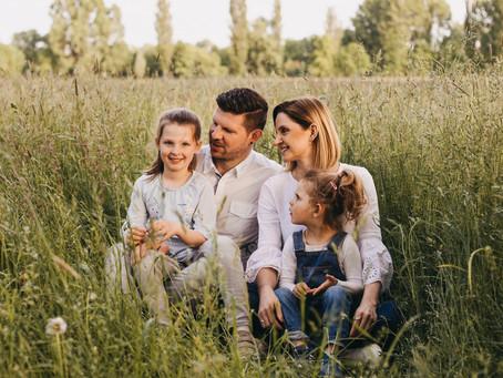 Familien Shooting - endlich mal alle auf einem Bild