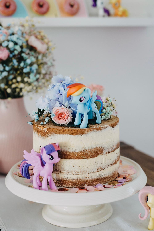my little pony torte Geburtstag kindergeburtstag regenbogen