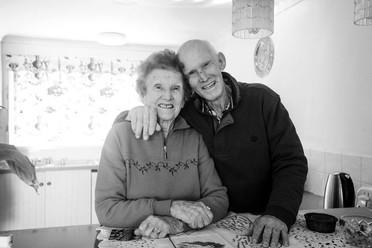 Aileen Stevens and Garry Carroll