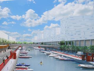 Inauguració Obres Canal del Port