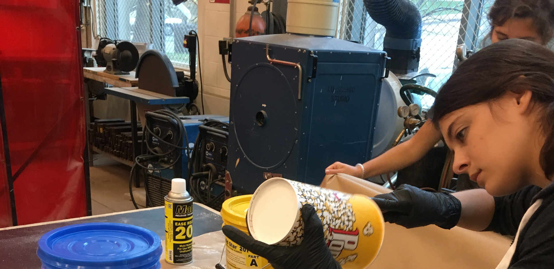 Making Mold of Venus