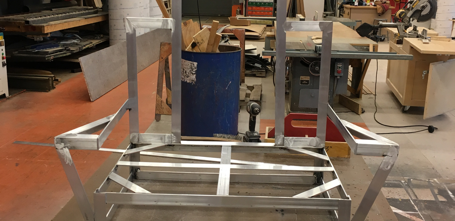 Throne Frame Finished