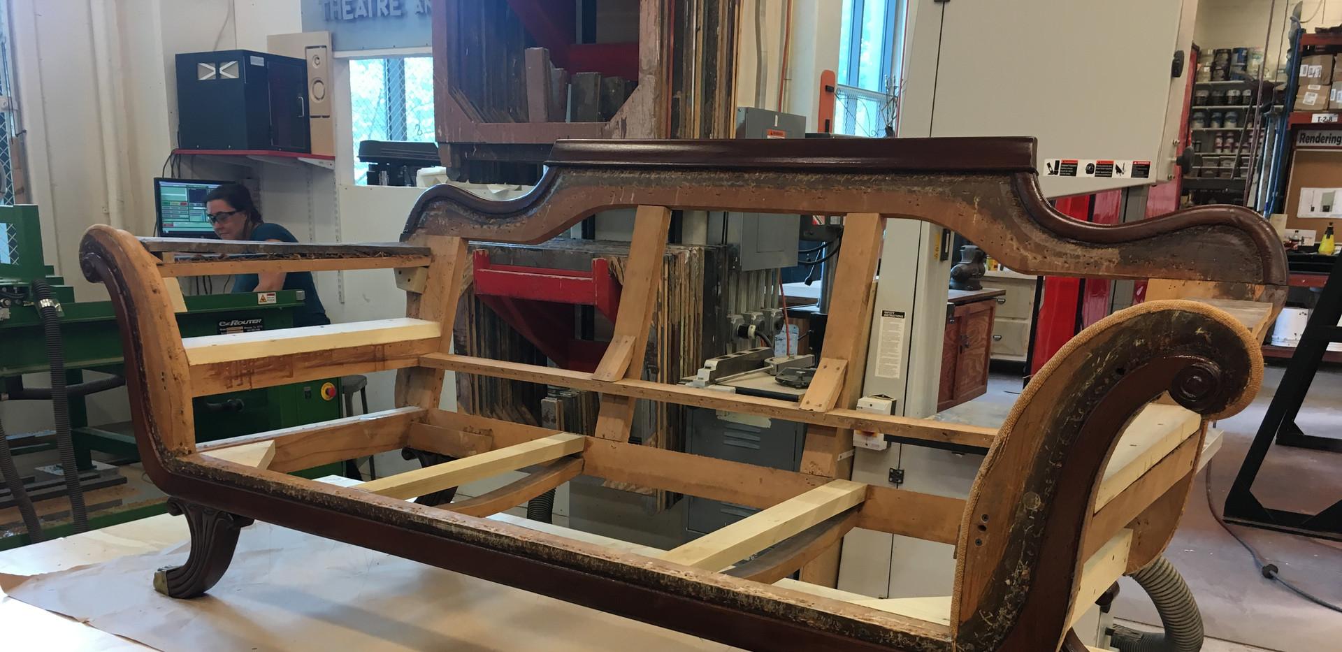 Refinishing Frame