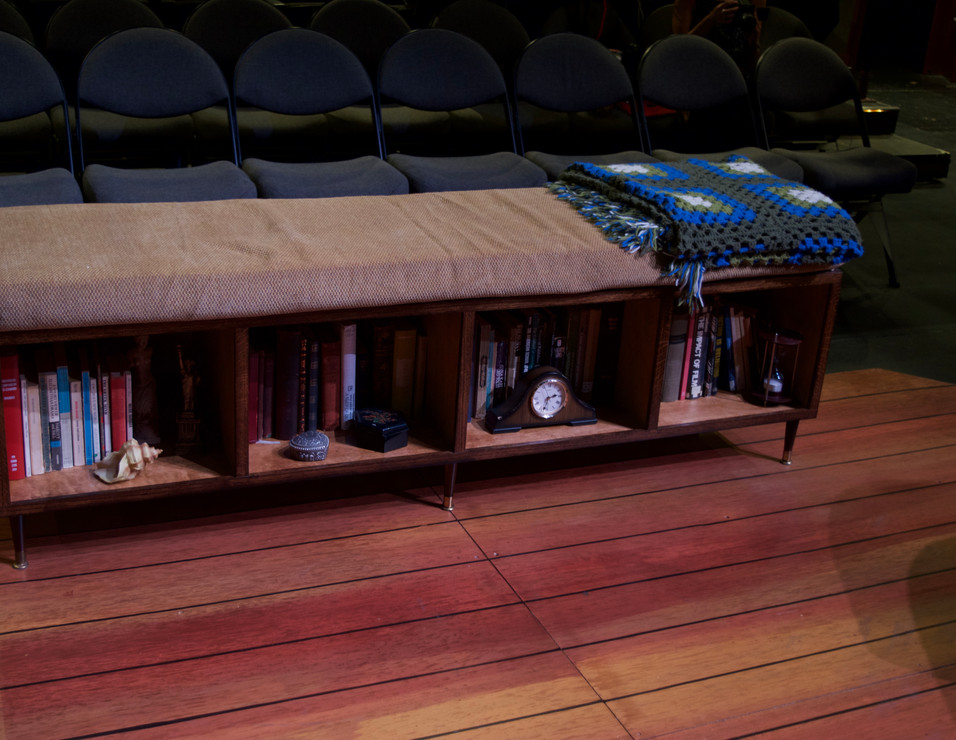 Bookshelf Bench