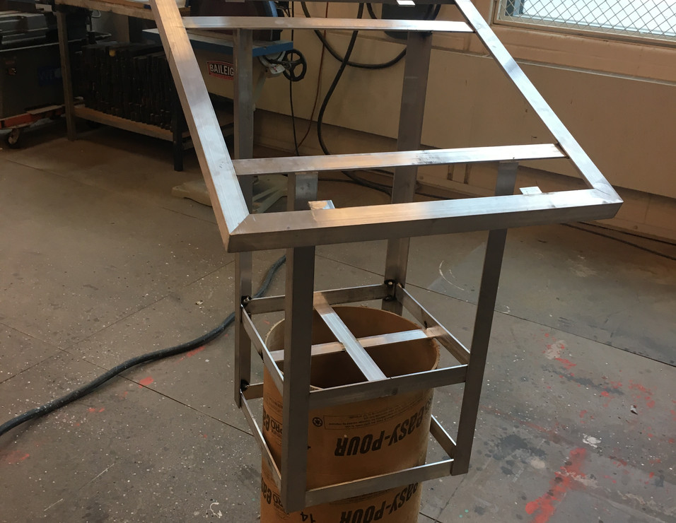 Lecturn Frame and Column Base