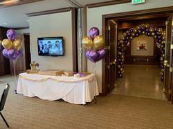 Bouquets, Arch - Graduation Party