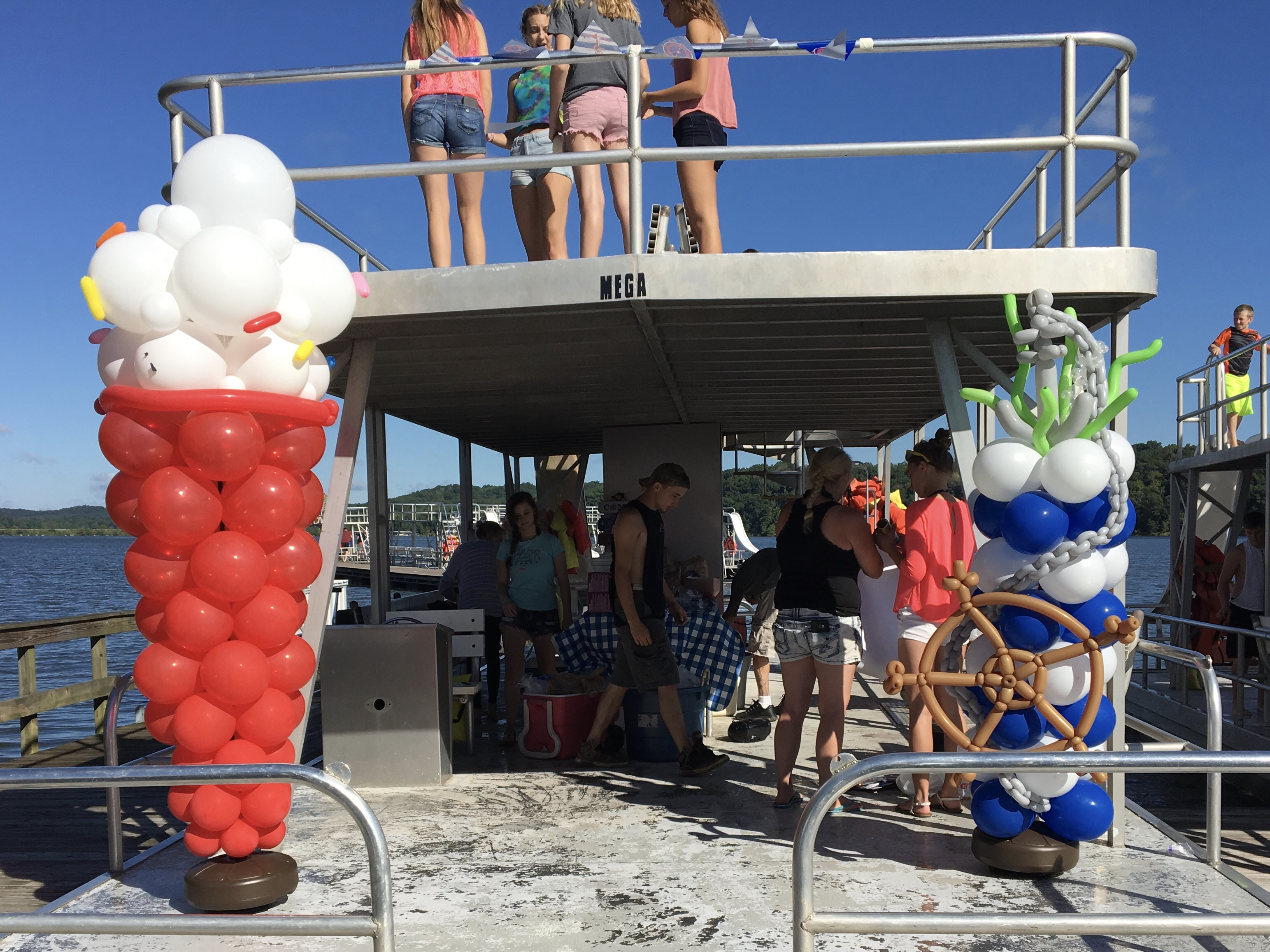 Nautical Column, Ice Cream Cone