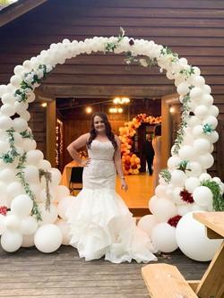 Organic Arch - Wedding