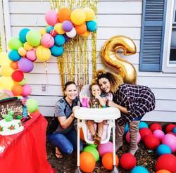 Demi-Arch - Birthday Party