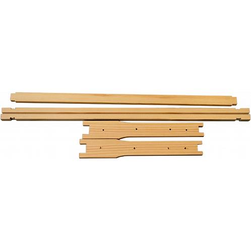Langstroth Deep Wooden Frames - Flat